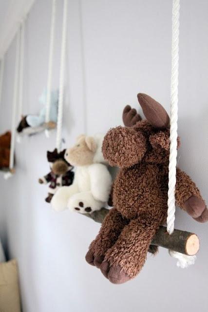 Prateleira para quarto de bebê- Idéia fofa