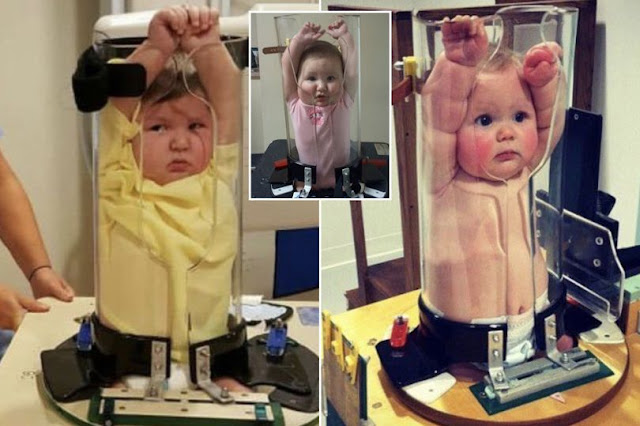 Grown-ups 'can't stop laughing' after discovering method used to X-ray wriggly babies