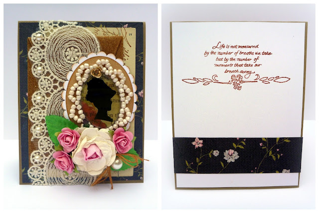 Devonshire Lady Romantic Card Tutorial by Dana Tatar