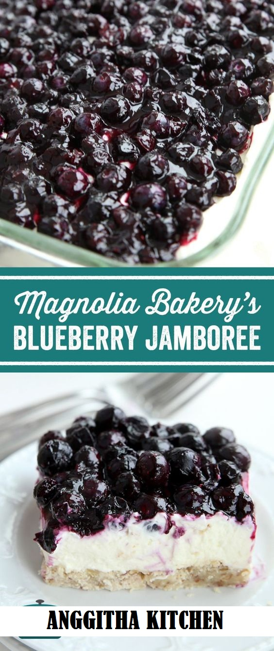 Magnolia Bakery Blueberry Jamboree
