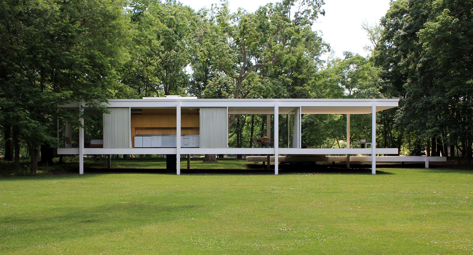 Casa Farnsworth 1950 Mies van der Rohe