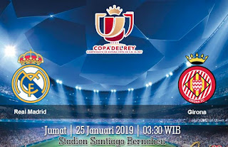 Prediksi Real Madrid Vs Girona 25 Januari 2019