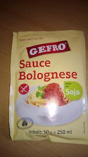 Bolognese sauce zum Einrühren