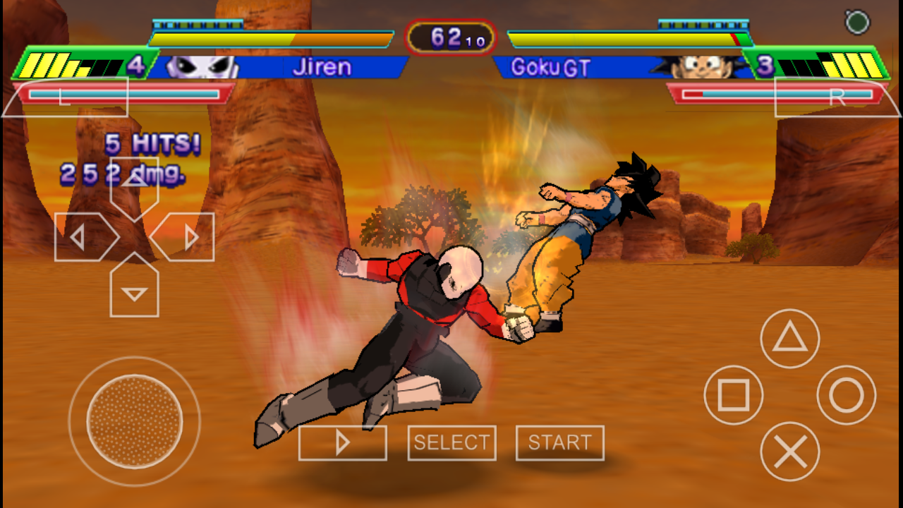 Dbz ppsspp games iso