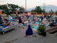16.732 Orang Mengungsi Akibat Gempa Palu dan Donggala