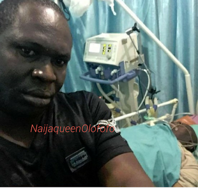 Diepreye Alamieyeseigha picture in coma