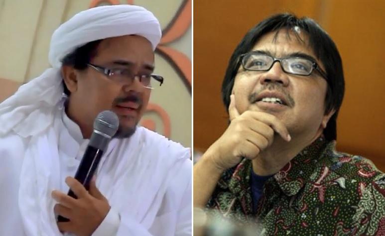 Habib Rizieq vs Ade Armando
