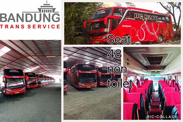 PO Bus pariwisata di Bandung