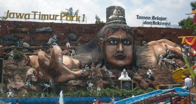 Tempat Wisata Terfavorit di Kota Batu Jatim park 1 dan Jatim Park 2