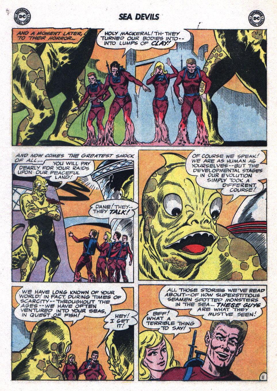 Read online Sea Devils comic -  Issue #20 - 16