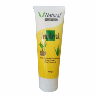 Facial Foam V Natural Temulawak