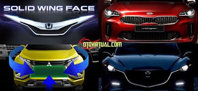 Desain Fascia yang Khas dari Pabrikan Mobil
