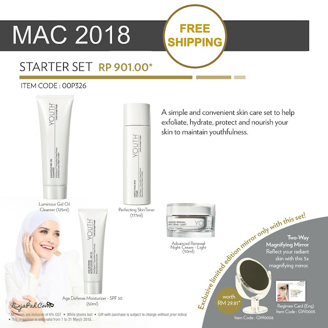 Pre-Order Youth Shaklee Starter Set Launch Promo Mac 2018