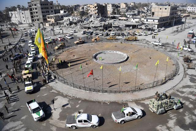 Η Εμπιστοσύνη Είναι Ζητούμενο Μεταξύ Αράβων και Κούρδων στη Ράκκα