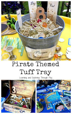 Pirate Themed Tuff Tray