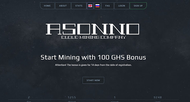 Free GHs mining coin