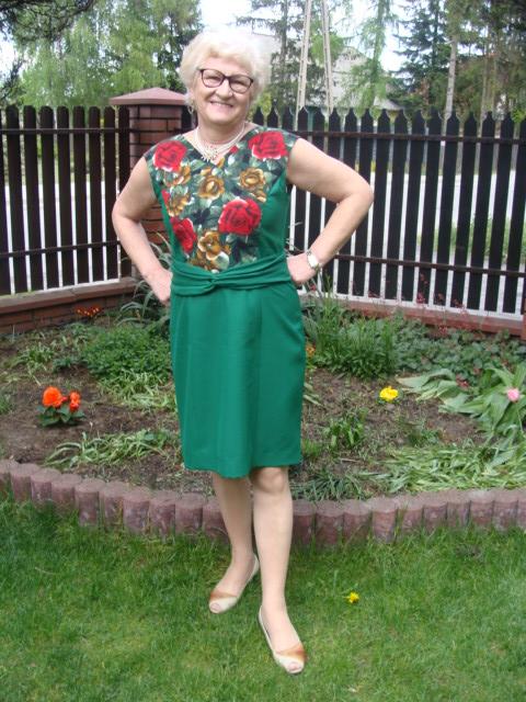 Jak uszyć szybko wygodne spodnie?Sukienka z burdy 5/2019 model 109 A.