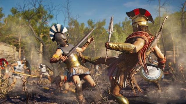 لعبة Assassin's Creed Odyssey بنصف السعر حاليا ، و Far Cry 5 عليها خصم بنسبة 60٪