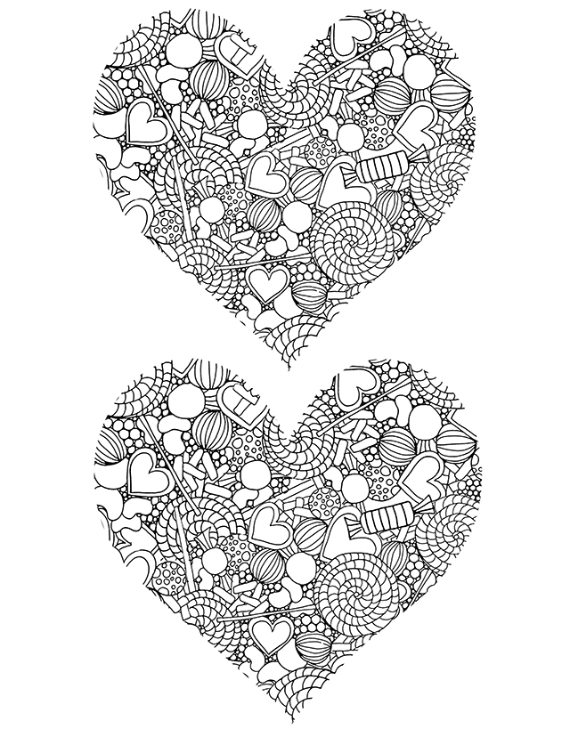 free candy coloring pages - alisaburke free candy coloring pages