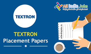 Textron Placement Papers