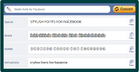 How To Change Facebook Font Style