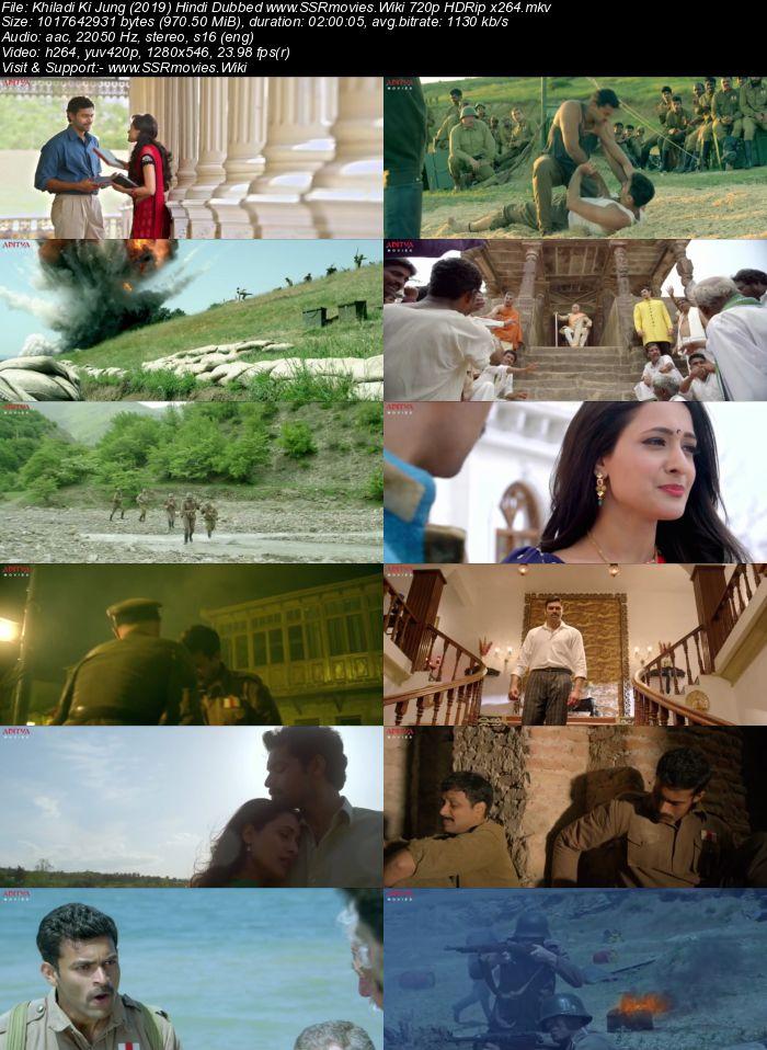 Khiladi Ki Jung (2019) Hindi Dubbed 480p HDRip x264 350MB Movie Download