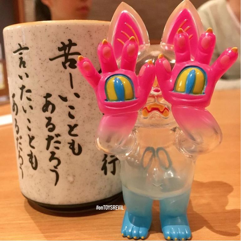 """4/"""" Action Figure Toys Magic Animal Club Plastic Craft Squid"""