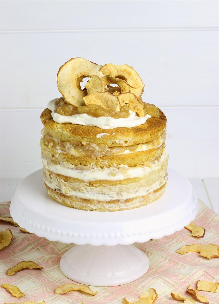 Apfel-Zimt-Torte