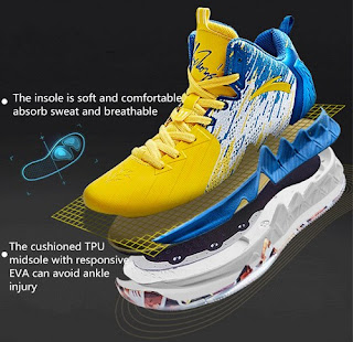 Klay Thompson Shoes desain