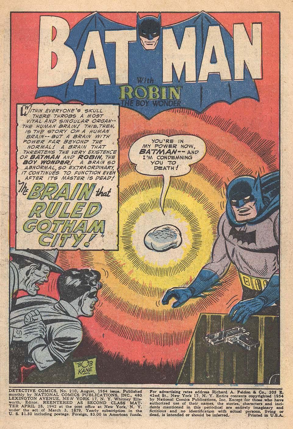 Read online Detective Comics (1937) comic -  Issue #210 - 3