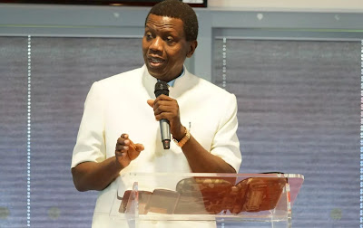 Pastor Enoch Adeboye, the general overseer of the Redeemed Christian Church of God (RCCG)