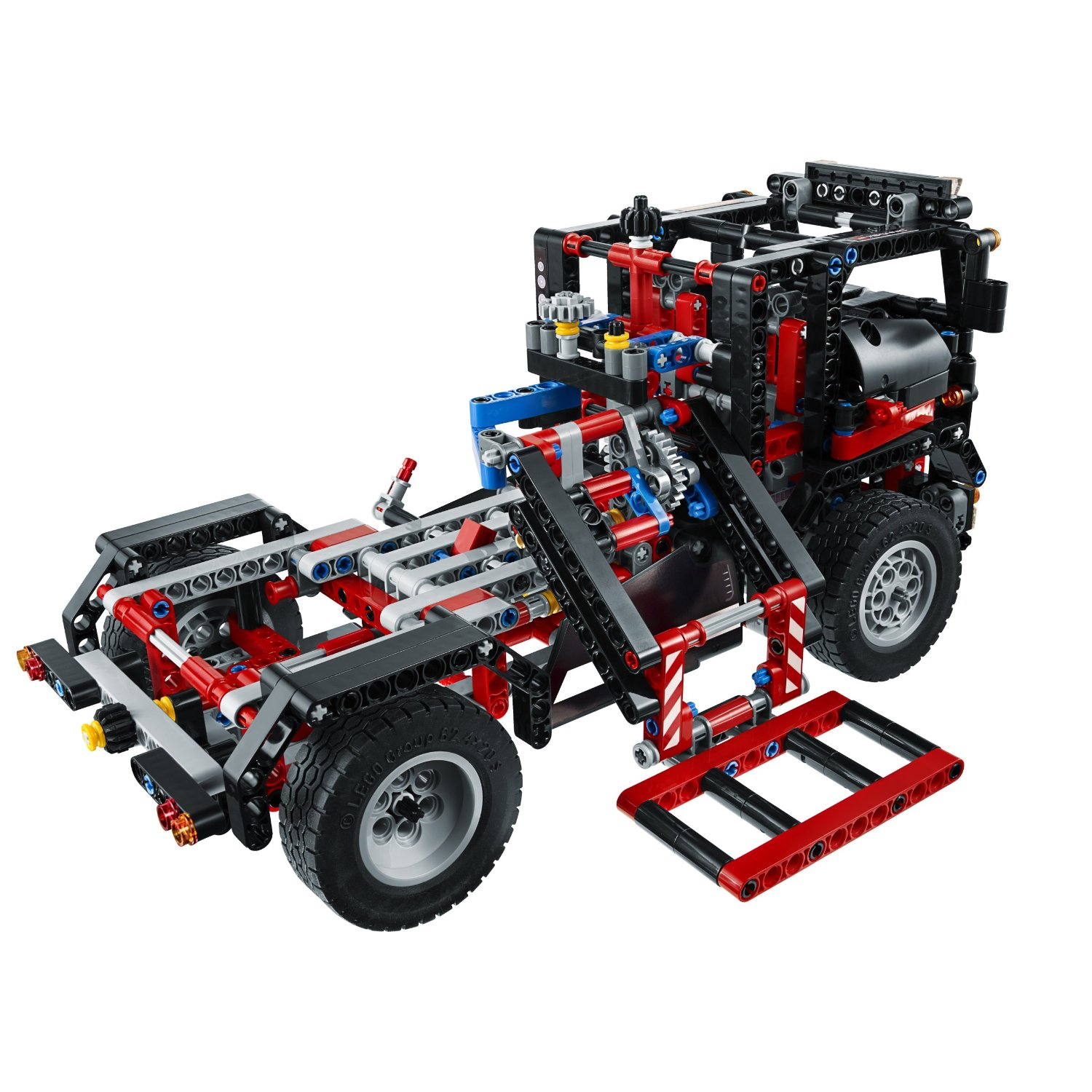 lego image lego technic pick up tow truck 9395. Black Bedroom Furniture Sets. Home Design Ideas