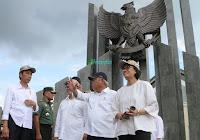 Jokowi Resmikan PLBN Entikong