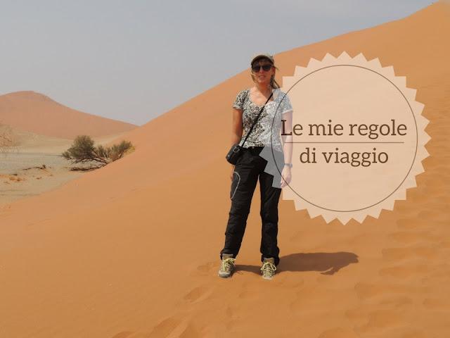 Viaggio fai da te #mytravelrules: io sulle dune della Namibia