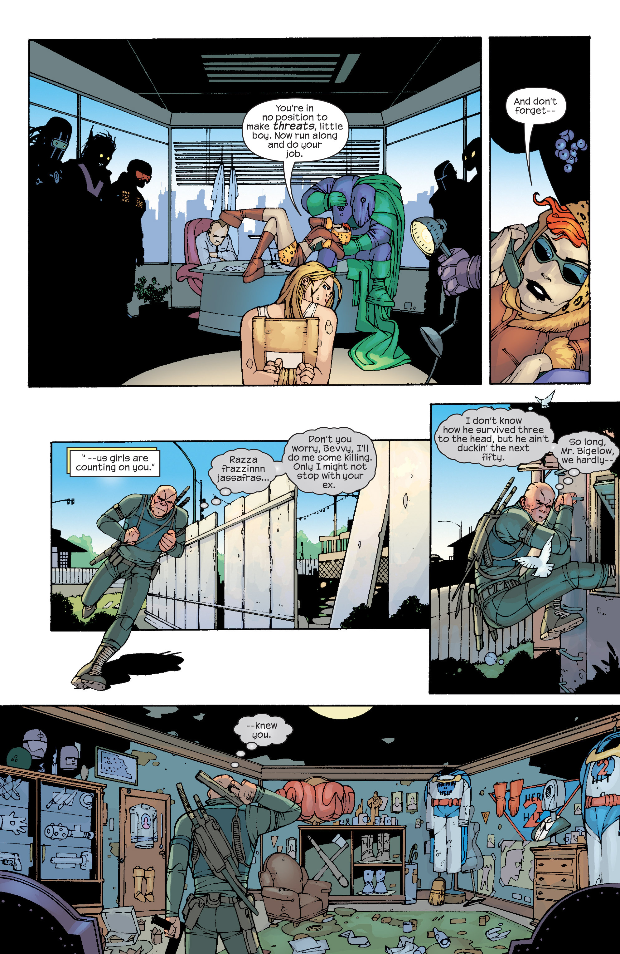 Read online Agent X comic -  Issue #10 - 12