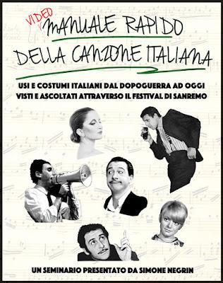 manuale rapido della canzone italiana