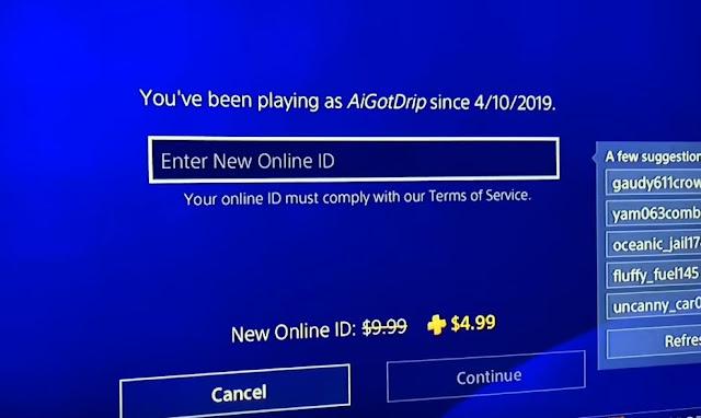 تقرير : خطوات تغيير اسم المستخدم ID PSN على جهاز PS4 و قائمة الألعاب التي لا تدعم الخاصية