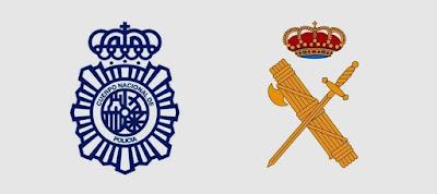policia, ertaintza, mossos de esquadra, policia nacional, policia local, guardia civil, gwardia cywilna,