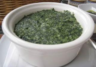 Crema di Spinaci e formaggio