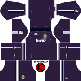 Real Madrid Kits 2010/2011 - Dream League Soccer