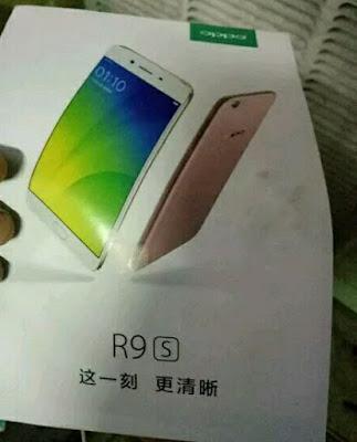 Oppo R9s mobile