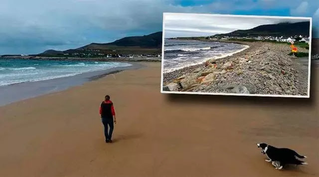Ajaib, Pantai Ini Muncul Lagi Setelah Hilang Selama 33 Tahun. Kok Bisa??