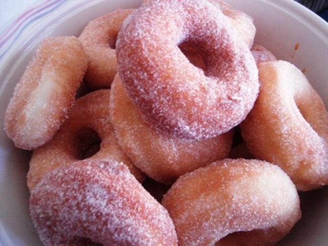 Biscoito Frito com Açúcar