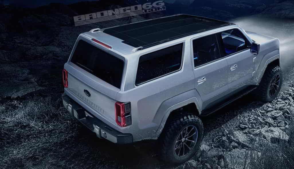 2020 Ford Bronco Concept - CarFoss