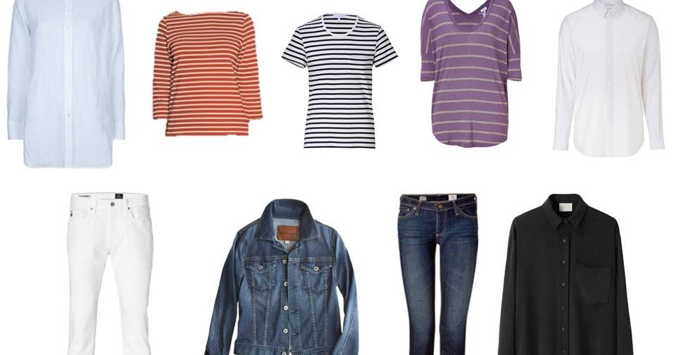 A Travel Capsule Wardrobe Packing For Summer On The