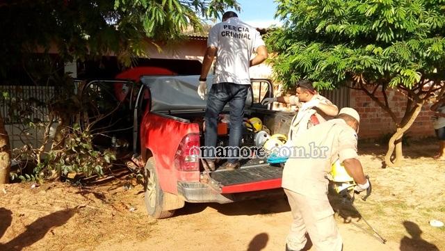 6º BPM recupera caminhonete roubada do Corpo de Bombeiros