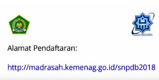 cara daftar dan alamat pendaftaran man ic man pk  http://madrasah.kemenag.go.id/snpdb2018 https://103.7.12.65/snpdb2018/