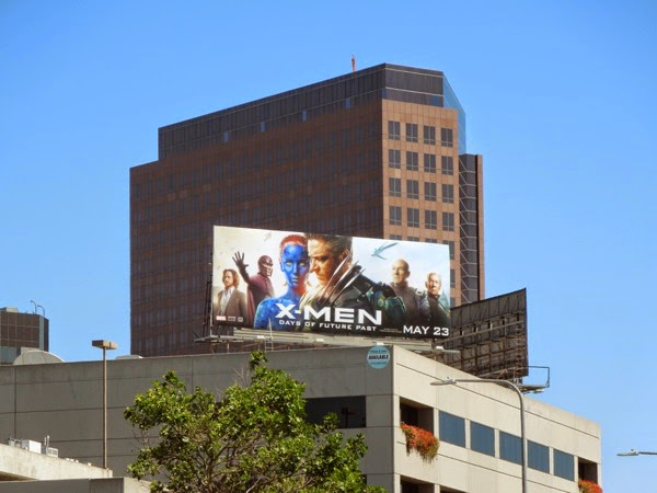 X-Men Days of Future Past billboard