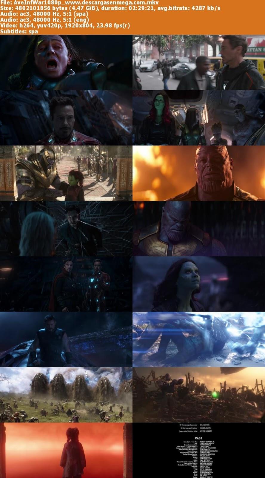 avengers infinity war imagenes