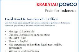 Lowongan Kerja Krakatau Posco Fresh Graduate